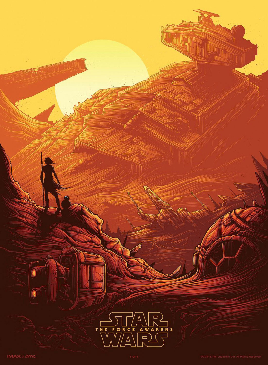 star wars the force awakens posters Dan Mumford