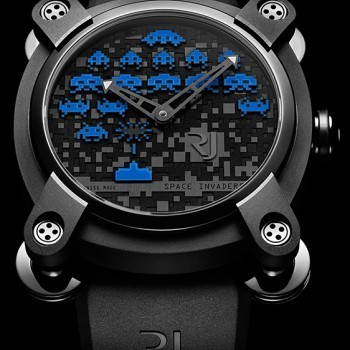 Space Invaders Blue Design