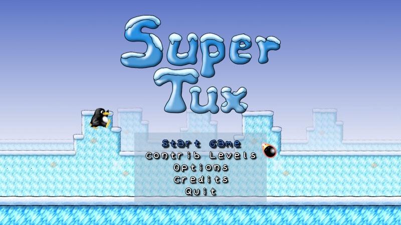 Super Tux Linux