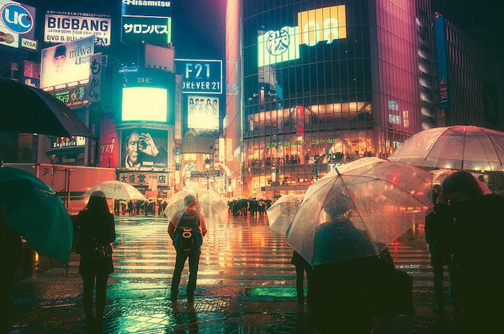 Fotografias vida noctura Tokio 1