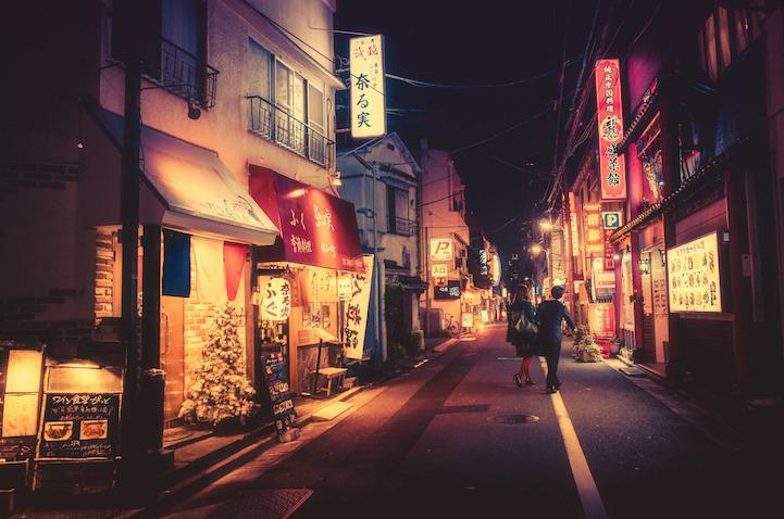 Fotografias vida noctura Tokio 14