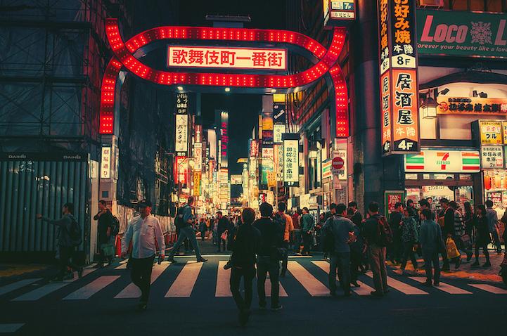 Fotografias vida noctura Tokio 15