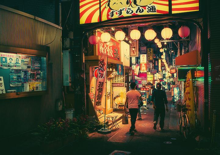 Fotografias vida noctura Tokio 4
