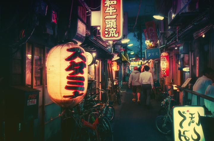 Fotografias vida noctura Tokio 5