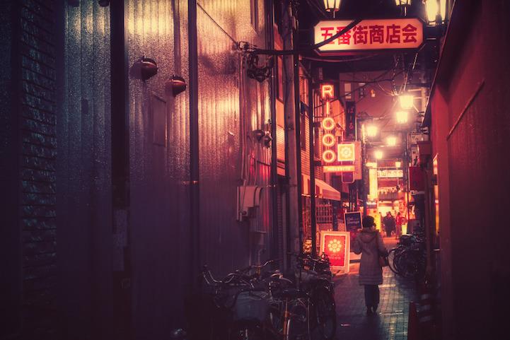 Fotografias vida noctura Tokio 8