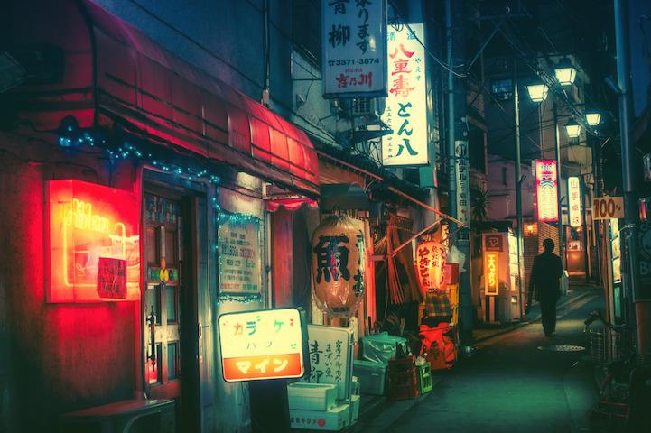 Fotografias vida noctura Tokio 9