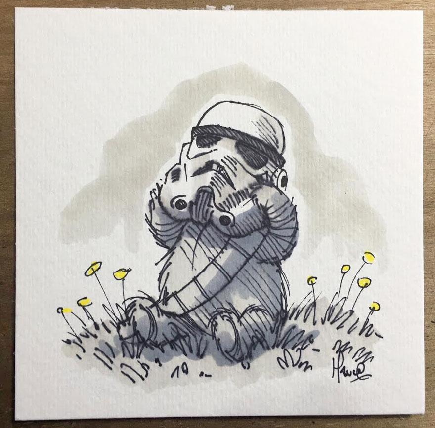 Personajes Star Wars Winnie Pooh 3
