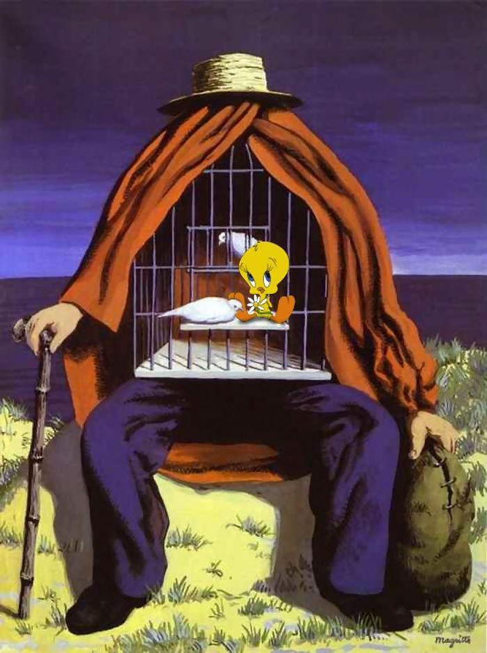 """""""La Thérapeute"""" por René Magritte"""