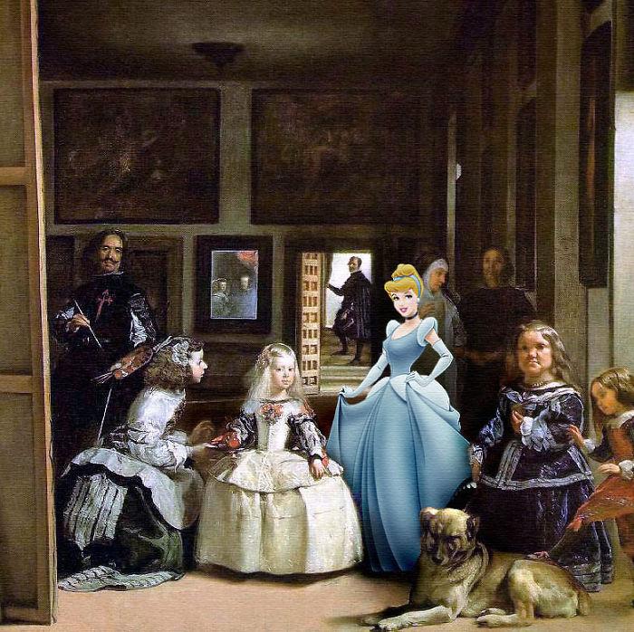 """""""Las Meninas"""" por Diego Velázquez"""