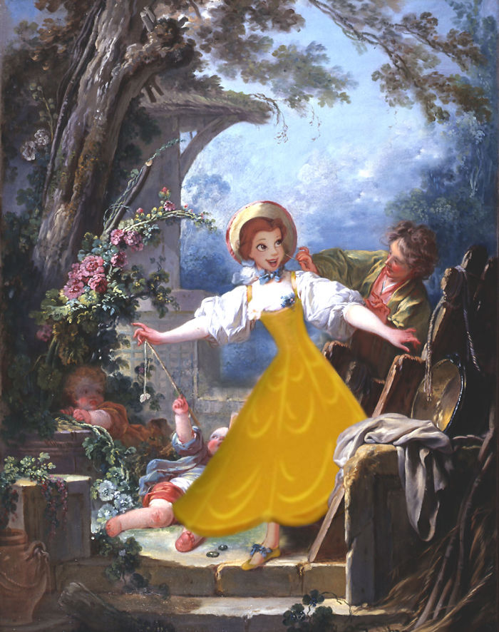 """""""La gallina ciega"""" por Jean Honoré Fragonard"""