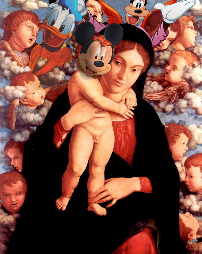 """""""La Madonna del Querubín"""" de Andrea Mantegna"""