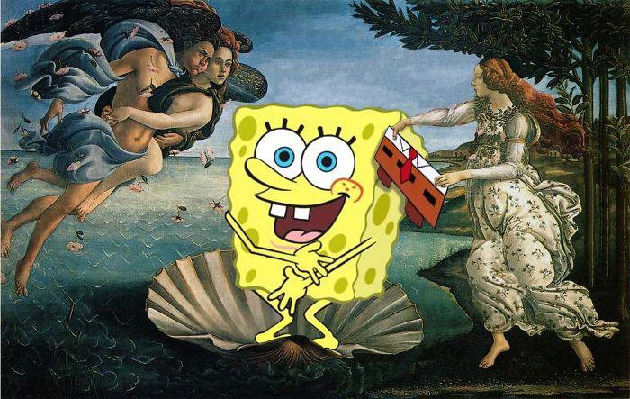 """""""El nacimiento de Venus"""" de Botticelli"""