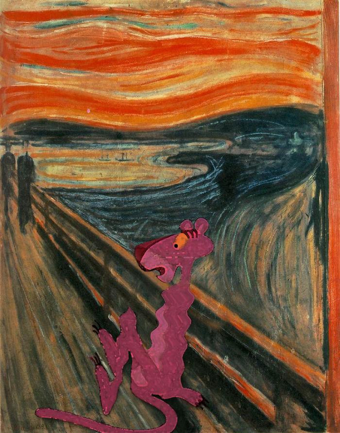 """""""El grito"""" por Edvard Munch"""