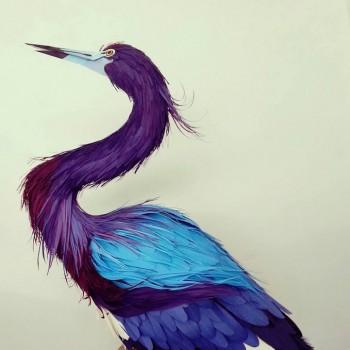 Diana Beltran Herrera esculturas de papel aves mariposas 10