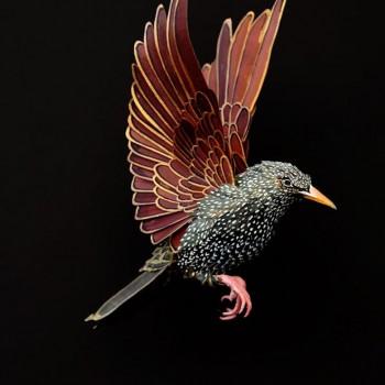 Diana Beltran Herrera esculturas de papel aves mariposas 9