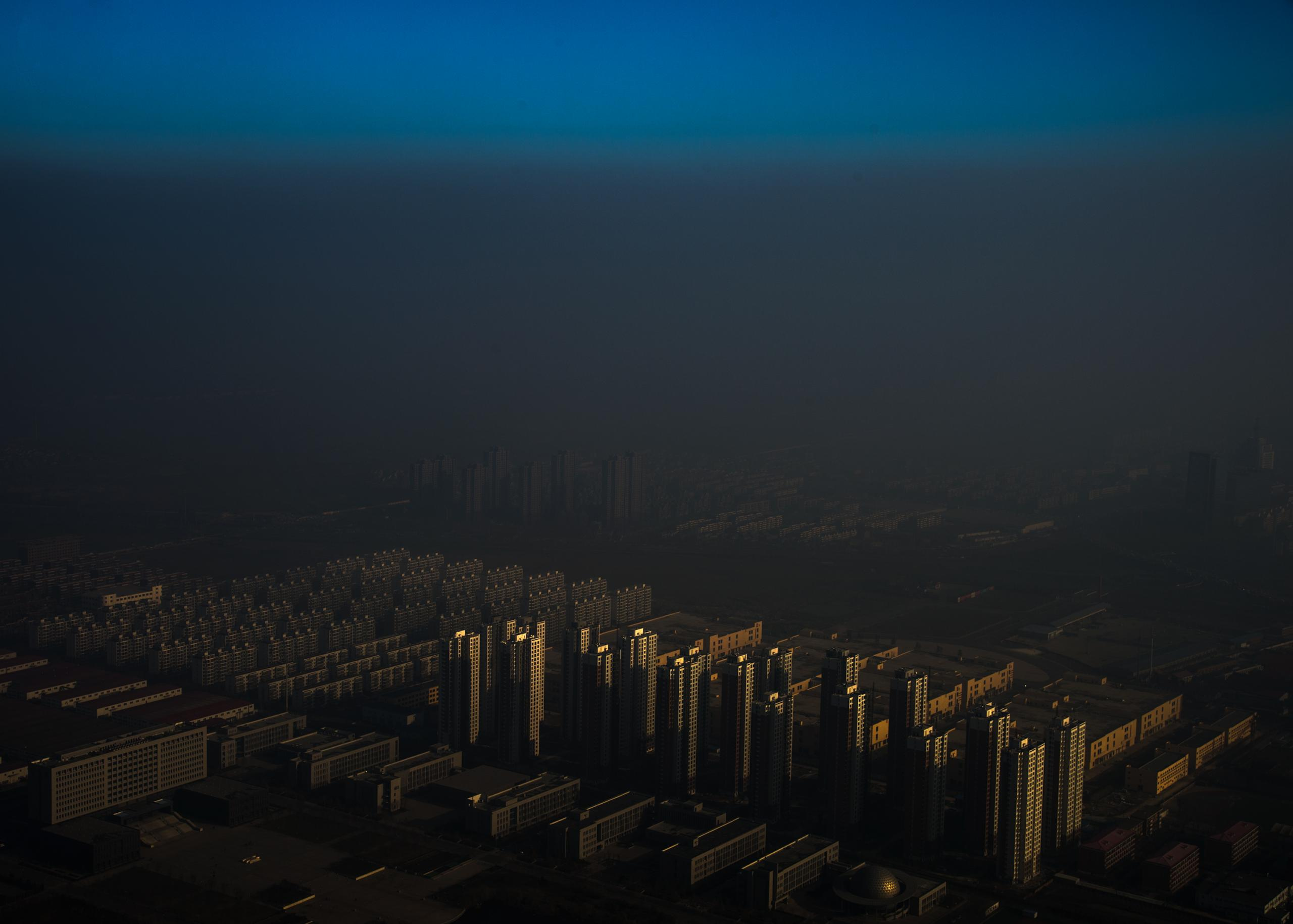 Haze in China