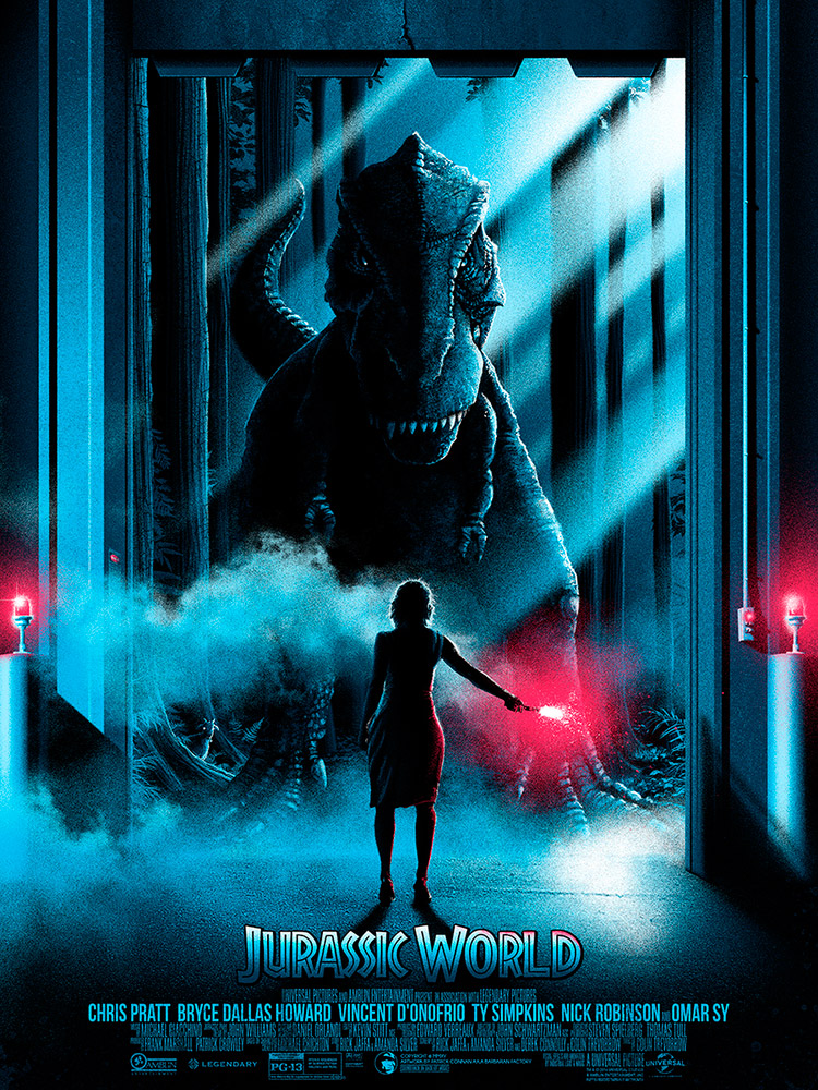 Patrick Connan poster jurassic world