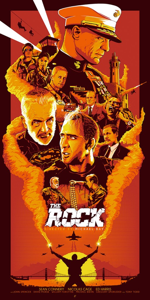 Patrick Connan poster the rock