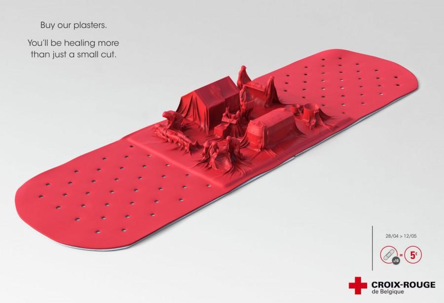 publicidad cruz roja