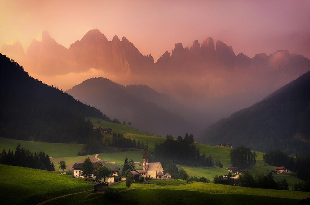 Albert Dros Val Di Funes Dolomites Italia