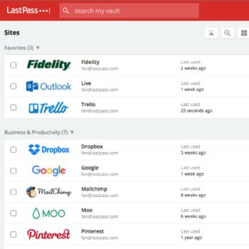 Agrega fácilmente nuevos sitios desde el portal o utilizando los plugins para navegadore