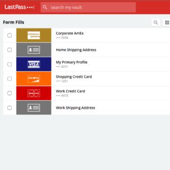 Rellena formularios con información confidencial protegida por LastPass de forma automatica