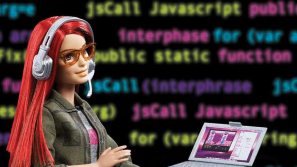 barbie desarrolladora de juegos