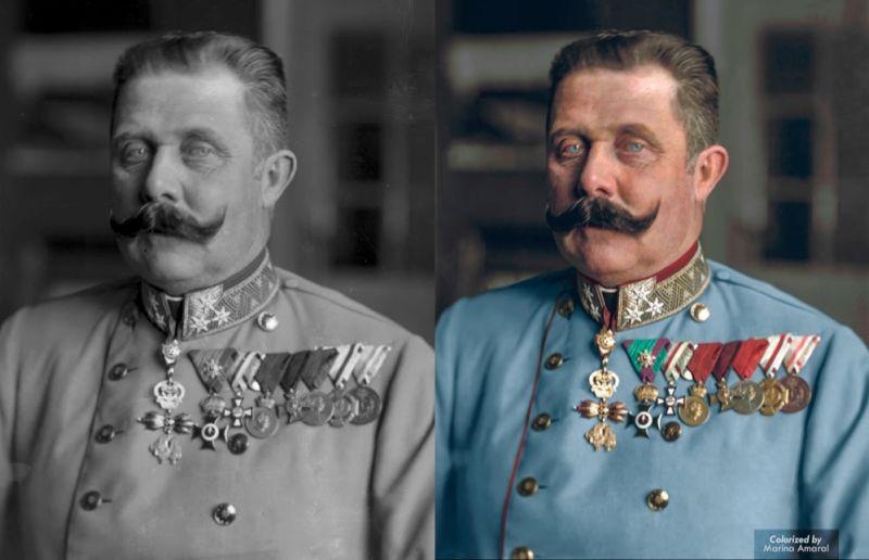Francisco Fernando, archiduque de Austria. Su asesinato en Sarajevo precipitó la Primera Guerra Mundial