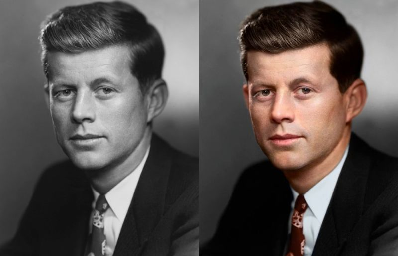 El trigésimo quinto presidente de Estados Unidos John F. Kennedy