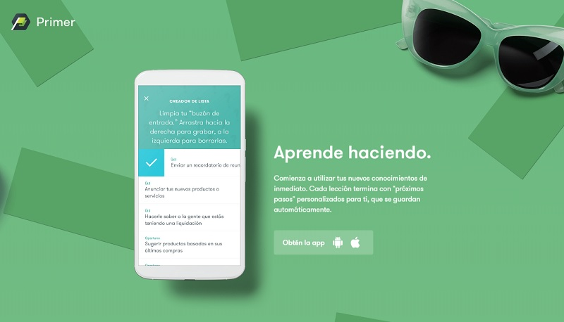 google primer aprender marketing digital app