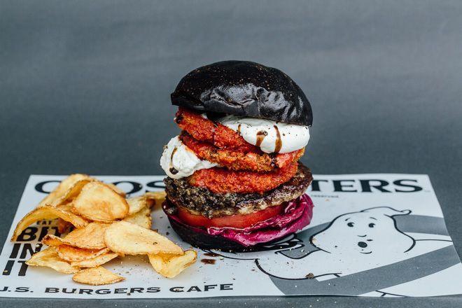 hamburguesa caza fantasmas