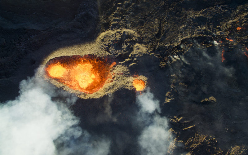 3er lugar Naturaleza Wildlife-Piton-de-la-fournaise-Volcano-by-Jonathan-Payet