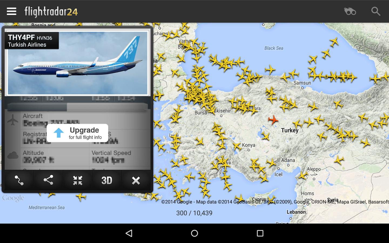 vuelos en vivo