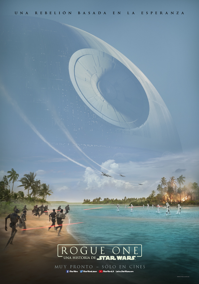 Star Wars Rogue One Póster