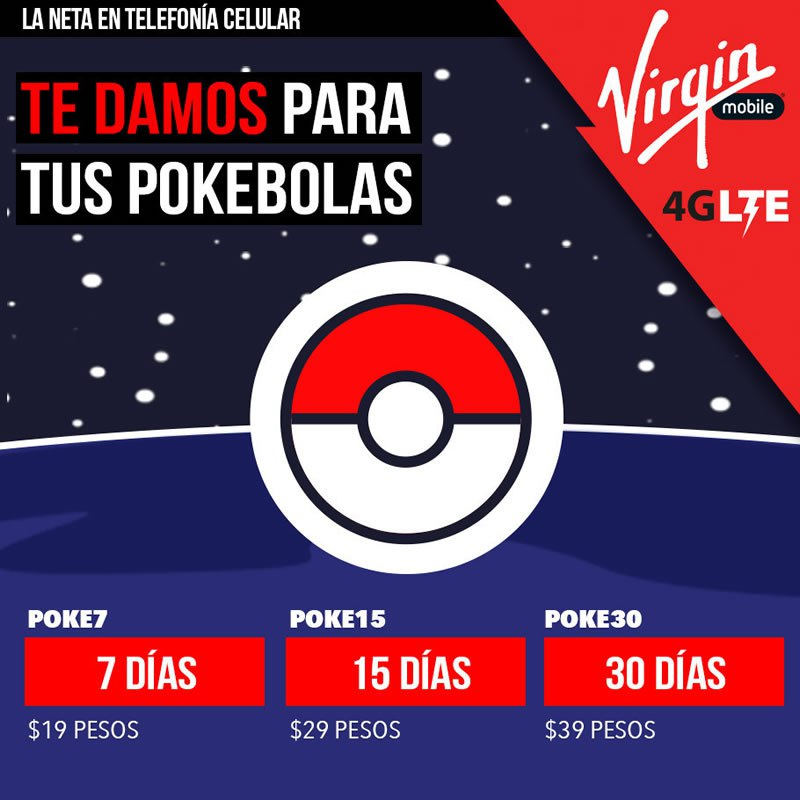 Virgin Mobile Pokemon Go
