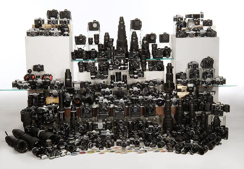 Equipo fotográfico Nikon - Cámaras