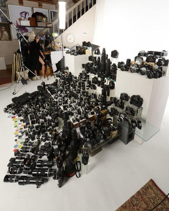 equipo fotográfico Nikon 2