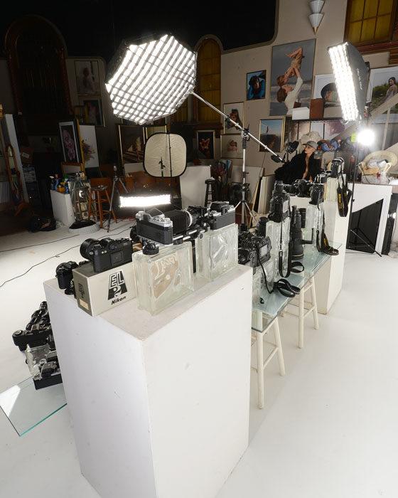 Equipo fotográfico Nikon - lluminación