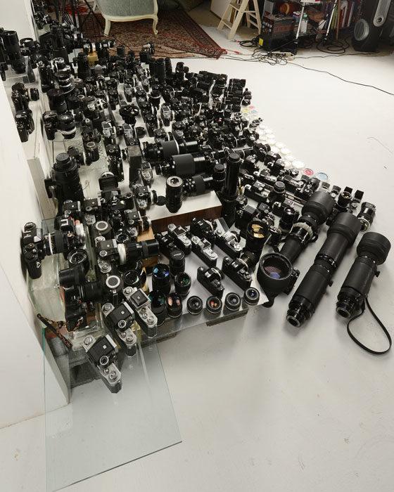 equipo fotográfico Nikon 4