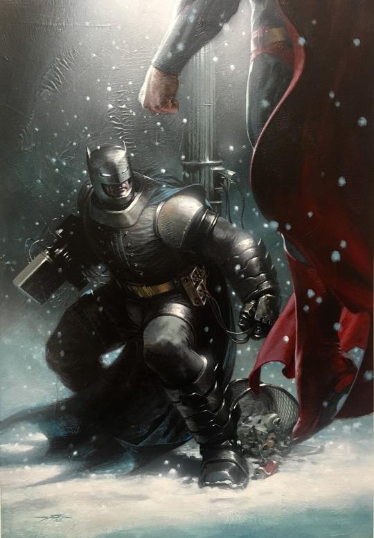 gabriele dell'otto galeria de ilustraciones batman v superman