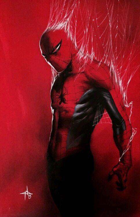 gabriele dell'otto galeria de ilustraciones spiderman