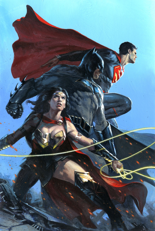 gabriele dell'otto galeria de ilustraciones wonder woman batman superman