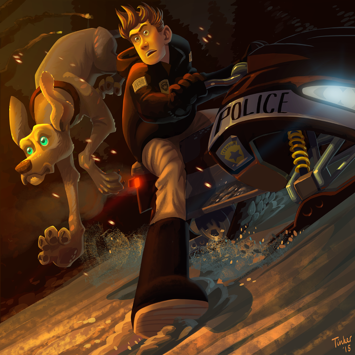 ilustraciones estilo caricatura por Paul Tinker 2