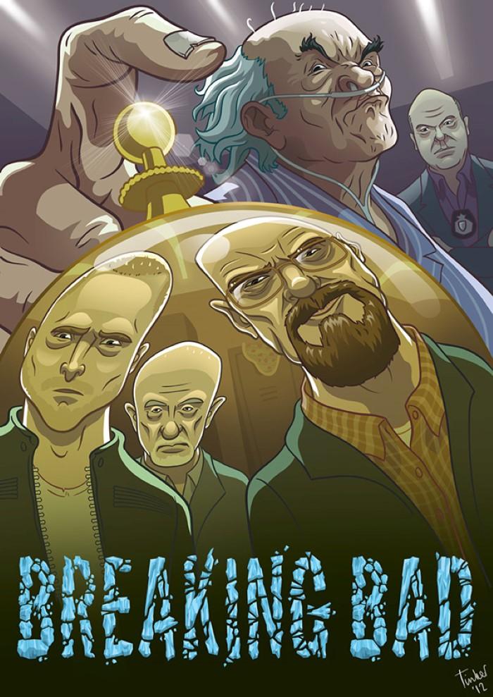 ilustraciones de personajes por Paul Tinker 5