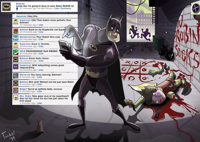 ilustraciones estilo caricatura por Paul Tinker 7