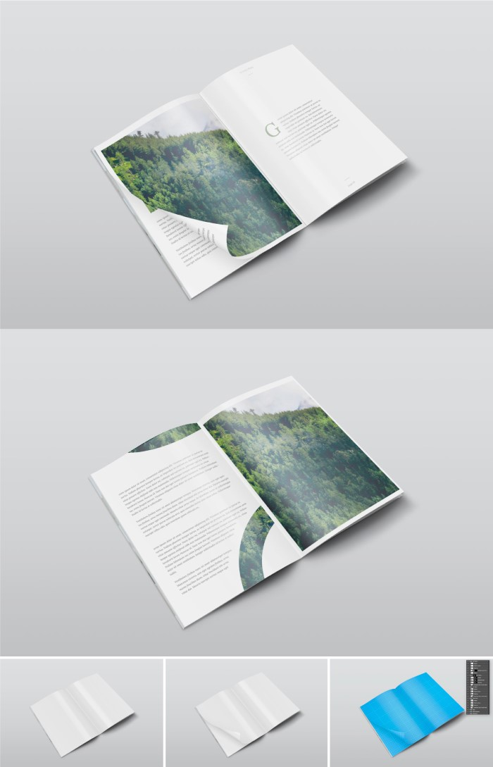 plantillas photoshop gratis revista 2