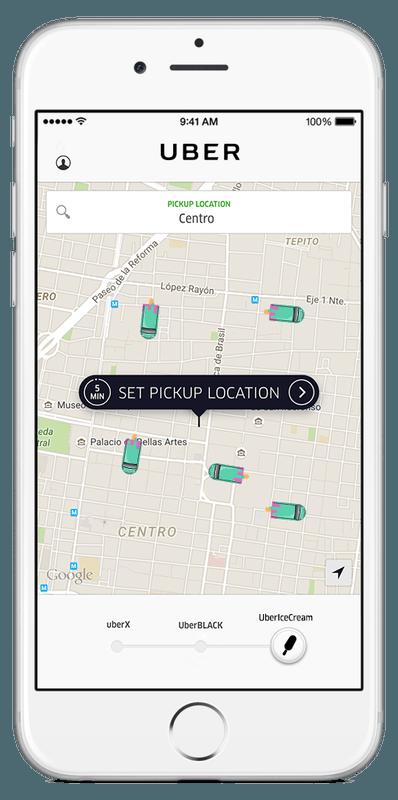 Uber y Magnum #UBERIceCream