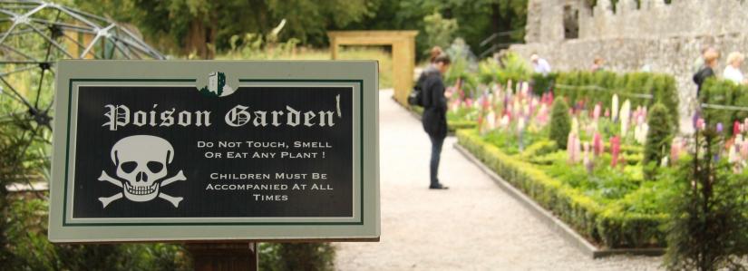 Alnwick the poison garden Inglaterra