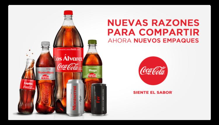 Campaña #ComparteCocaCola