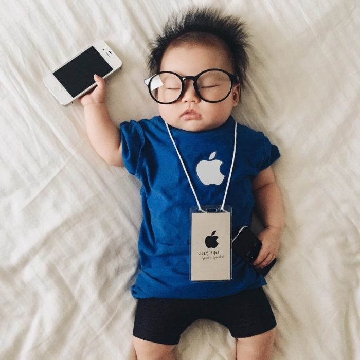 Cosplay más tiernos del mundo apple genius